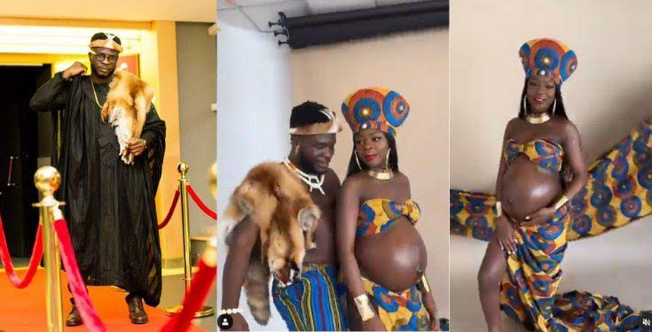 images-1-1 Comedian, Crazeclown, and his fiancee, Jojo, expecting their first child (video)
