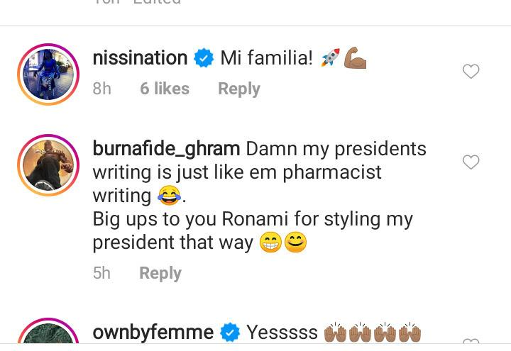 """unnamed-6-4 Handwriting like that of a pharmacist"""" – Reactions as Burna Boy's note surfaces online"""