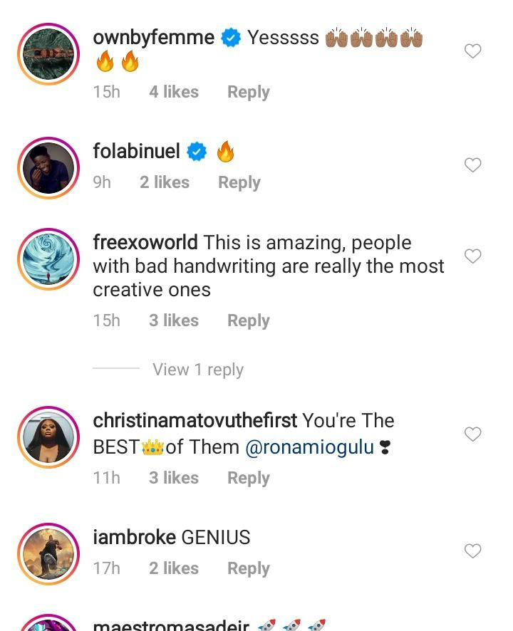 """unnamed-7-2-1 Handwriting like that of a pharmacist"""" – Reactions as Burna Boy's note surfaces online"""