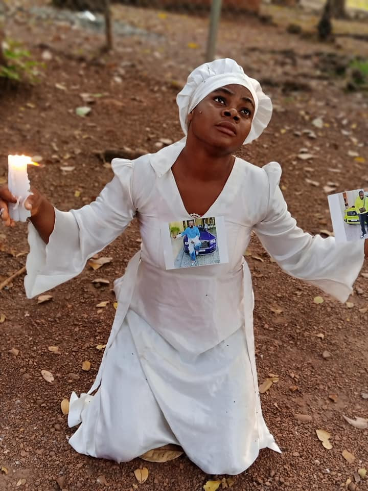 """5fe9b3d0ce623 'I Was On Mountain Praying For My Boyfriend' – Nigerian Lady Goes On """"30 Days Dry Fasting And Prayers"""" For Hushpuppi"""