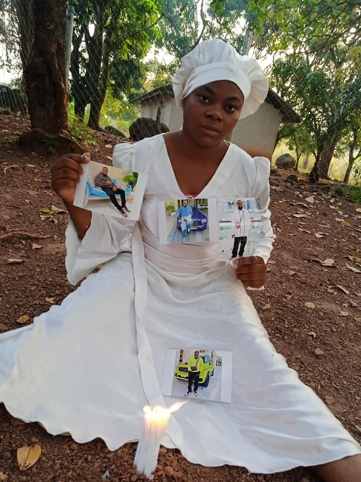 """5fe9b3e03183d 'I Was On Mountain Praying For My Boyfriend' – Nigerian Lady Goes On """"30 Days Dry Fasting And Prayers"""" For Hushpuppi"""