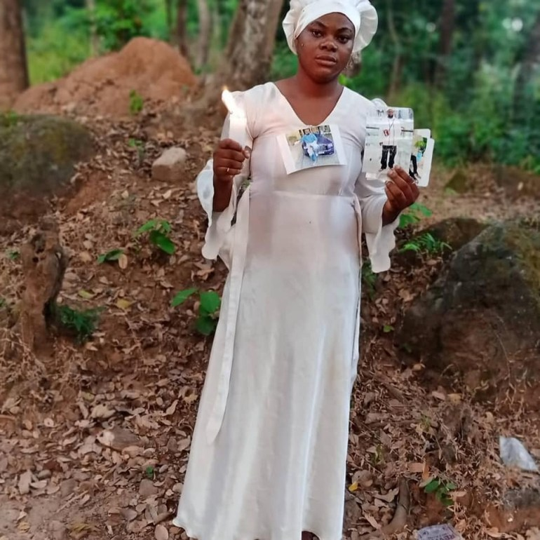 """5fe9b3f059a52 'I Was On Mountain Praying For My Boyfriend' – Nigerian Lady Goes On """"30 Days Dry Fasting And Prayers"""" For Hushpuppi"""