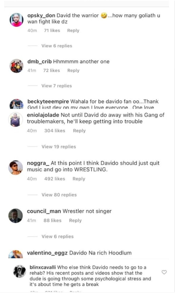 """Screenshot_20201231-095630-600x1000 All You Do Is Fight Everywhere"""" – Man Rages On Social Media As Davido Reportedly Fights Again In Ghana"""