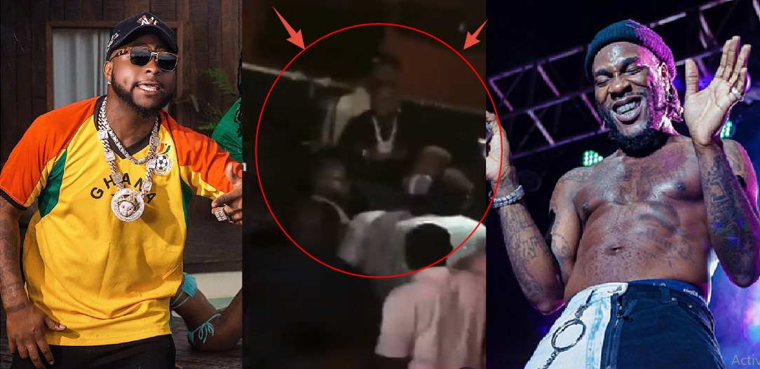 UCScreenshot20201228231133 Clearer video Of Davido And Burnaboy fight Finally Pops Up Online; As Davido gives Burna Boy first Attack [Video]