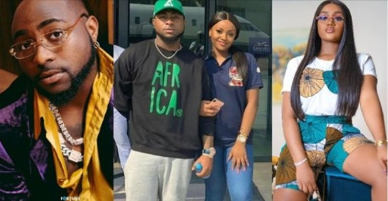 UCScreenshot20201229133409 Davido and fiancee, Chioma allegedly fight over his entanglement with two women