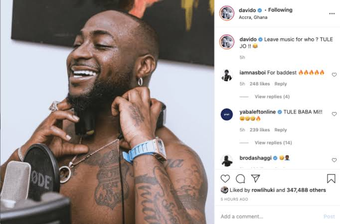 images-17 'Leave music for who?' – Davido changes mind after threatening to quit music