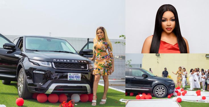 Nengi-pens-appreciation-note-to-fans-for-buying-her-a Nengi pens appreciation note to fans for buying her a Range Rover