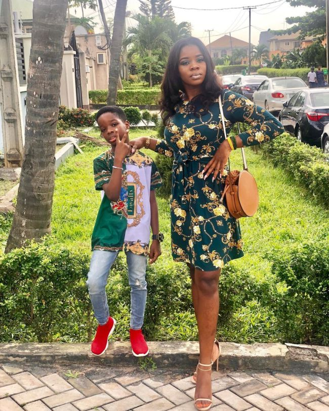 wizkid-baby-mama-sola-pic Wizkid's first baby mama, Sola Ogudu involved in car accident