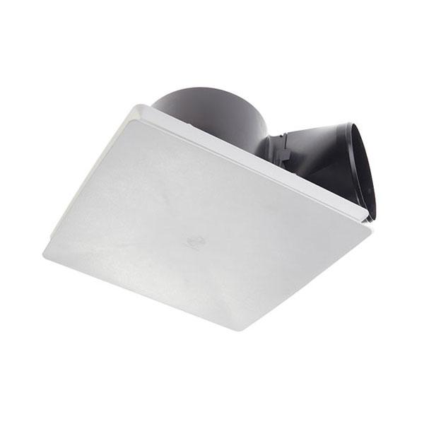 fantech rapid response respf150 header box exhaust fan square