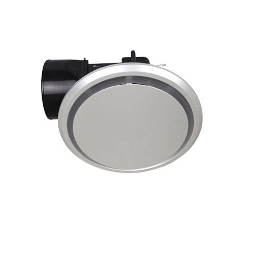 mercator novaline ii 240 round ceiling exhaust fan silver