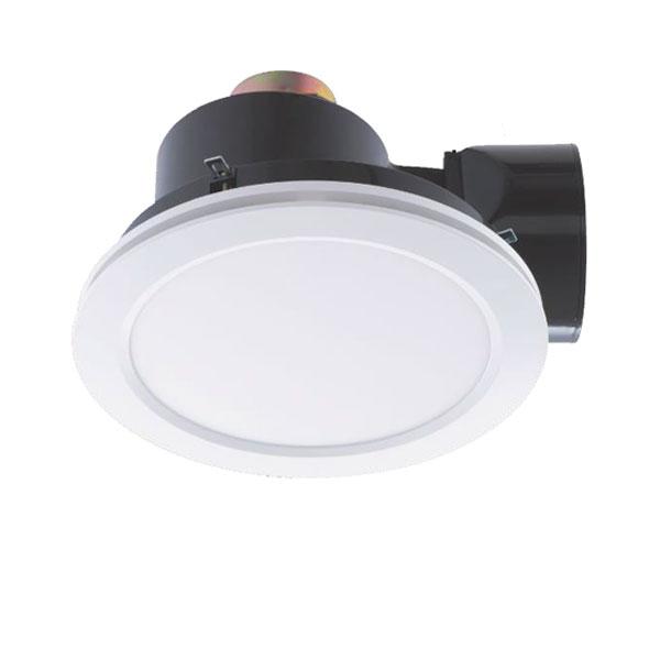 revoline exhaust ceiling fan with led light white mercator