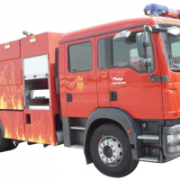 Multipurpose fire fighting vehicle