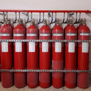 AKRONEX CO2 FIRE EXTINGUISHER SYSTEM