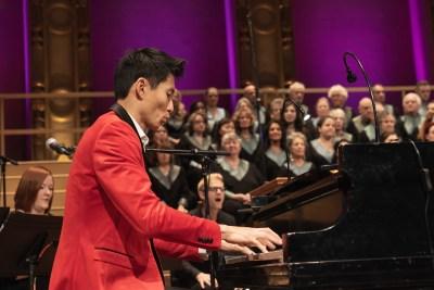 Roy Tan on Piano