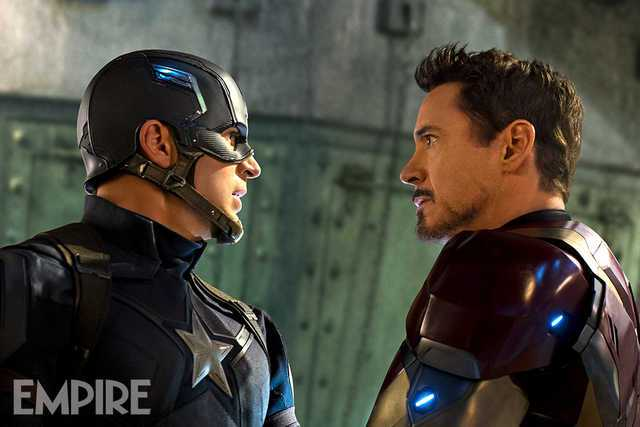 Captain America: Civil War (Empire Magazine)