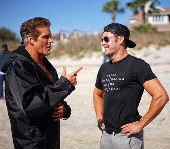 Baywatch (David Hasselhoff e Zac Efron)