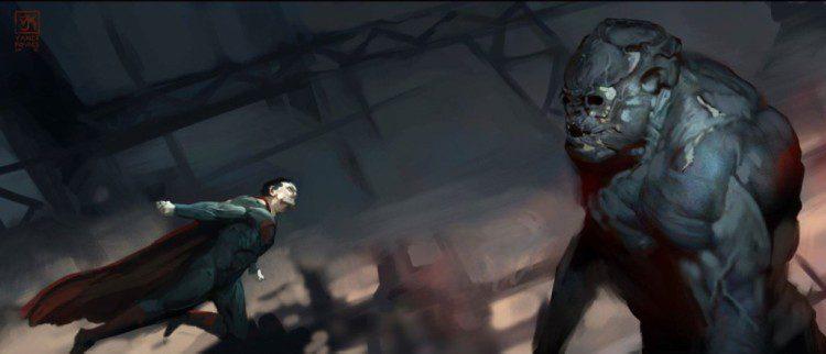 Batman v Superman: Dawn of Justice (Concept Art by Vance Kovacs)