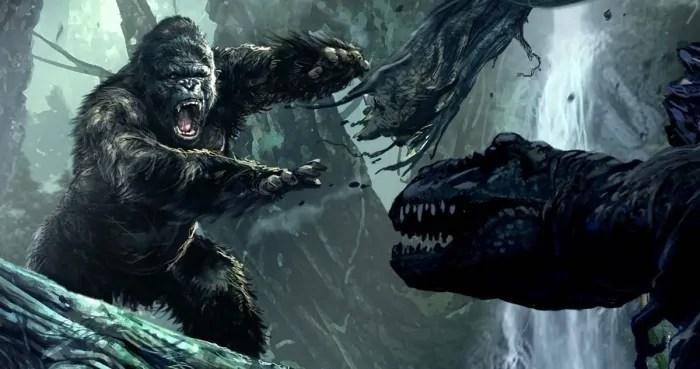 Kong skull island concept