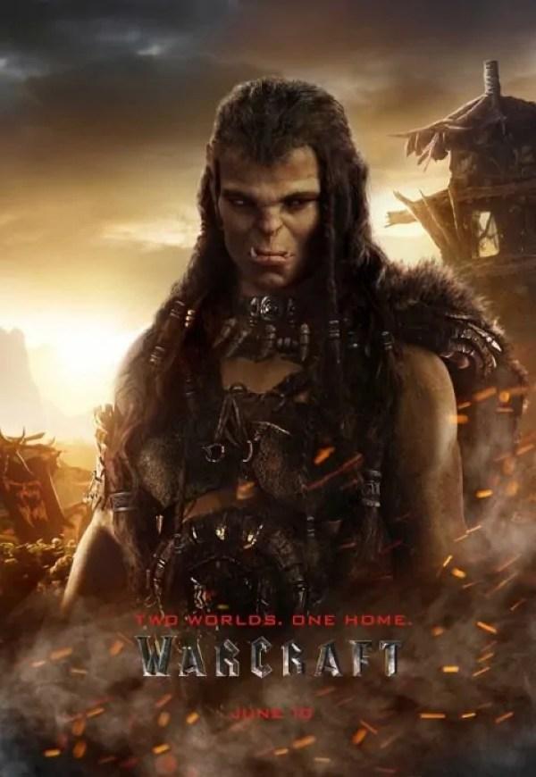 warcraft poster draka