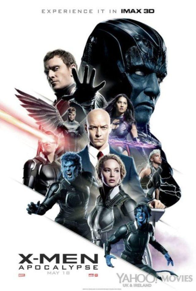 x-men apocalisse poster imax