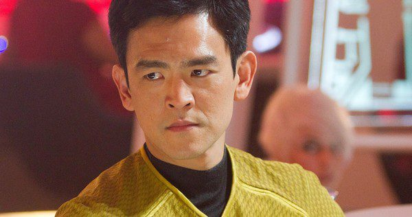 UNDATED -- Undated handout photo of John Cho is Sulu in STAR TREK INTO DARKNESS, from Paramount Pictures and Skydance Productions. HANDOUT: Paramount Pictures. ORG XMIT: POS1305071543324092