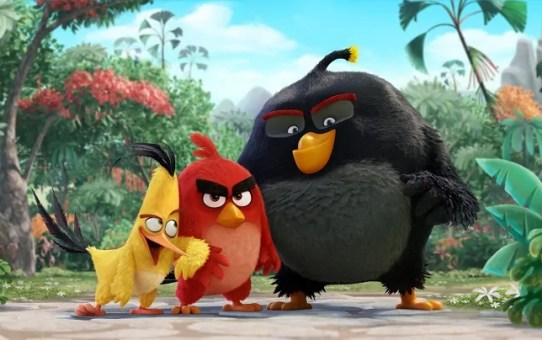 Angry Birds cartoon foto
