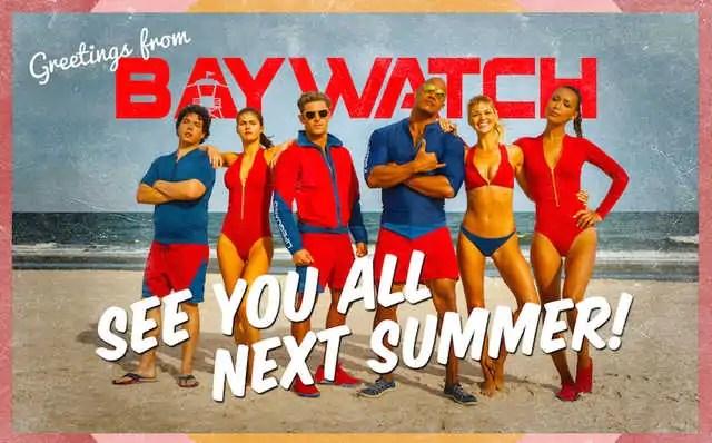 Baywatch, il trailer del nuovo film sui bagnini più famosi della tv