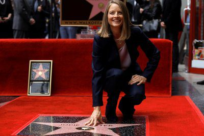 jodie foster walk of fame