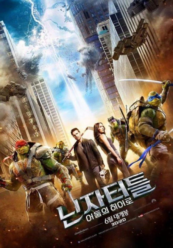 tartarughe ninja 2 poster