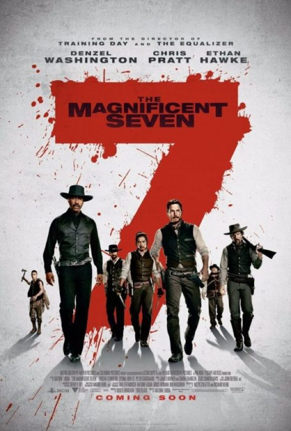 magnifici sette poster