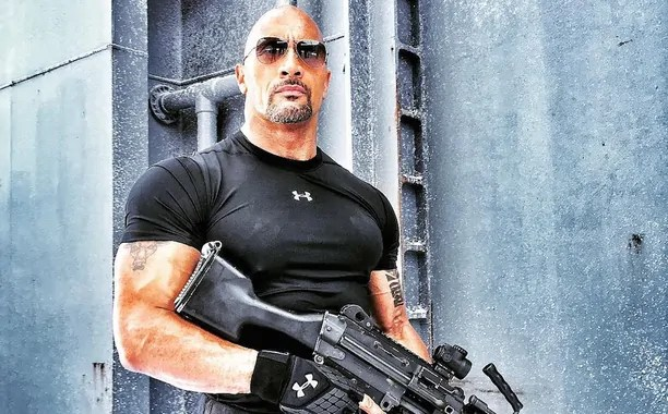 fast 8 the rock