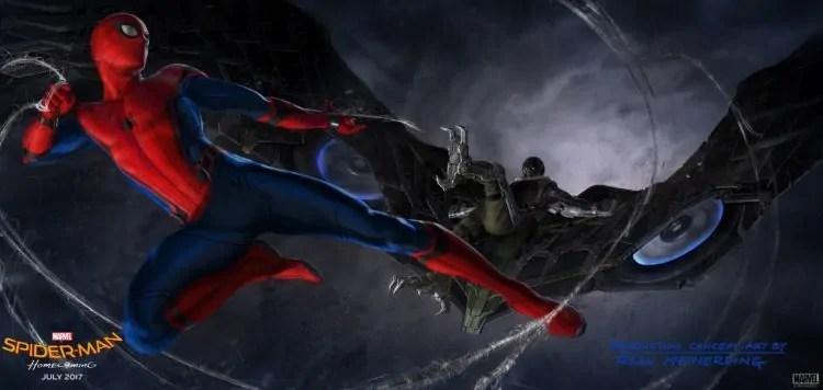 spider-man avvoltoio