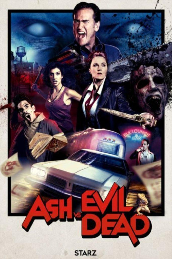 ash vs evil dead 2 poster
