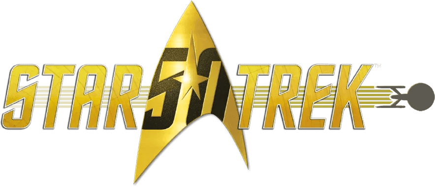 star trek logo 50