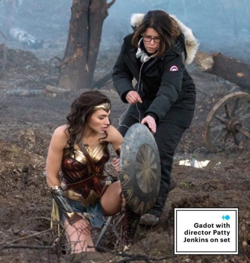 wonder woman foto set ew