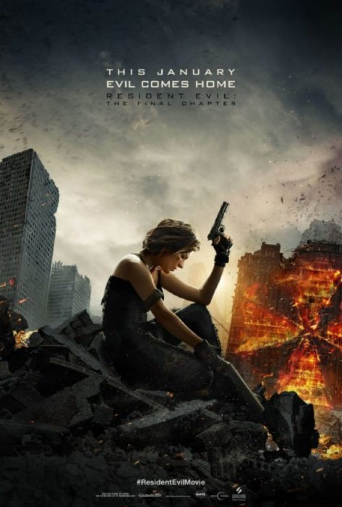 resident evil final chapter poster usa