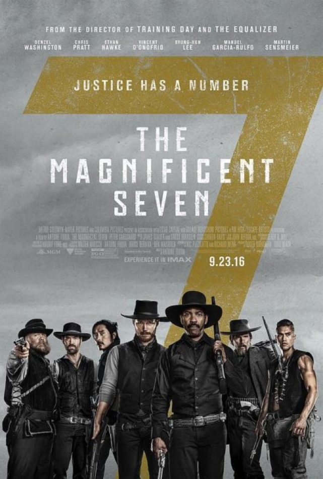 magnifici 7 new poster