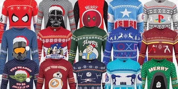 Per un Natale super Nerd arrivano i maglioni dedicati al mondo di Marvel, Star Wars e non solo
