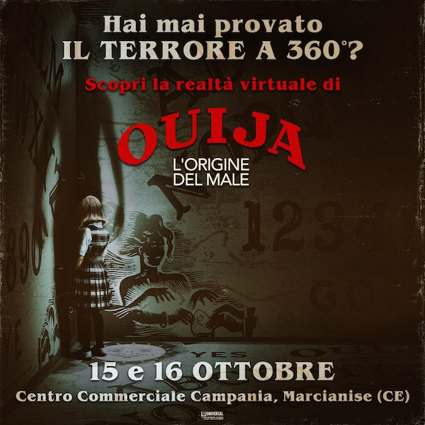 Ouija - L'origine del Male (evento Centro Commerciale Campania)