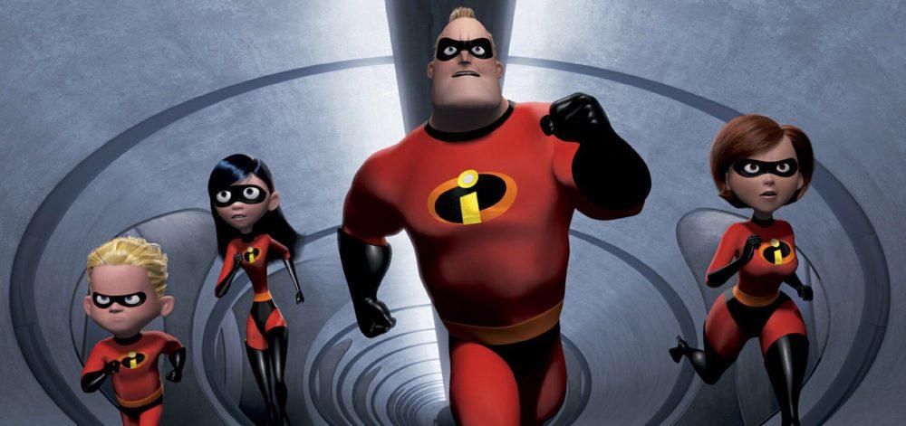 gli incredibili pixar