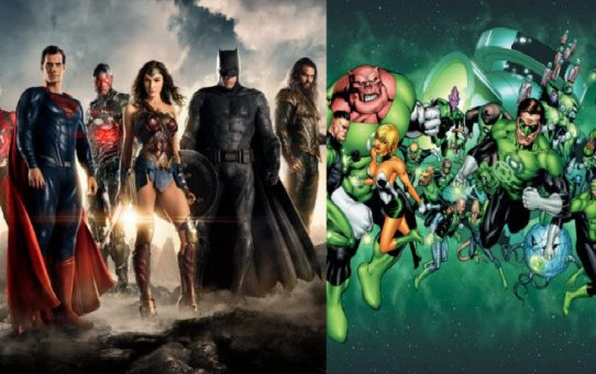 Green Lantern Corps - Justice League