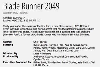 La nebbia che avvolge Los Angeles finalmente si sta dirandando: svelata la sinossi di Blade Runner 2049