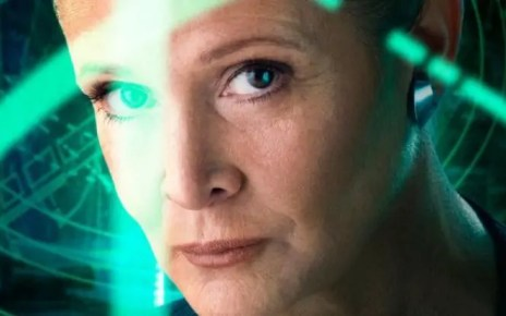 carrie fisher non sarà in star wars ix