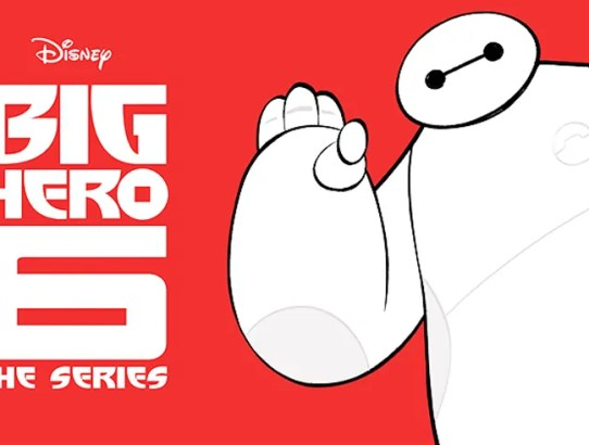 big hero 6 series