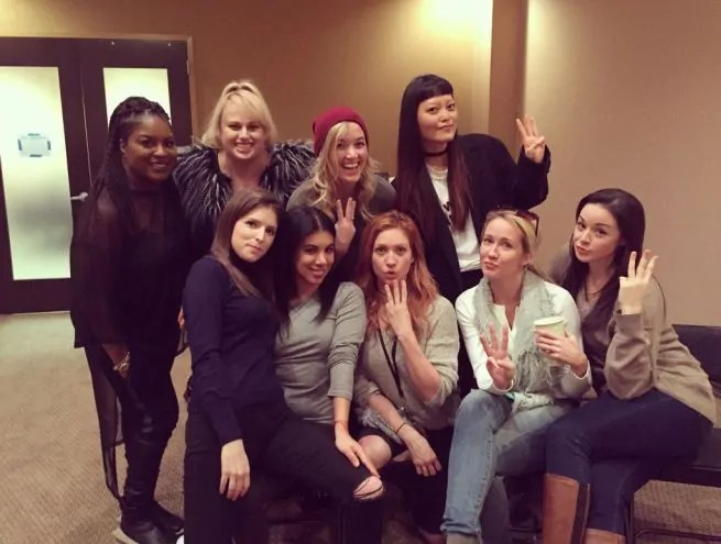 pitch perfect 3 cast foto
