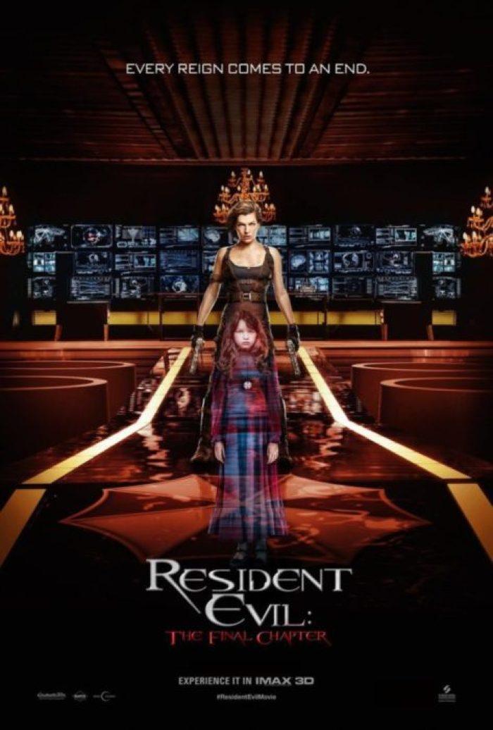 resident evil poster imax