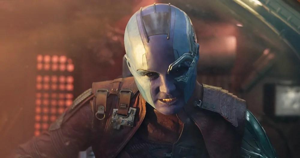 Ecco il nuovo look di Nebula in vista di Avengers 4