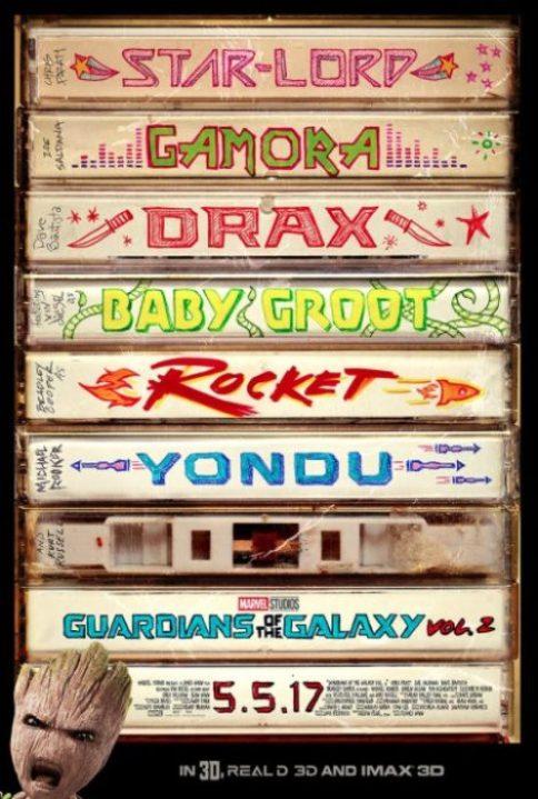guardiani della galassia 2 poster