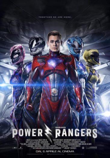 power rangers poster ita