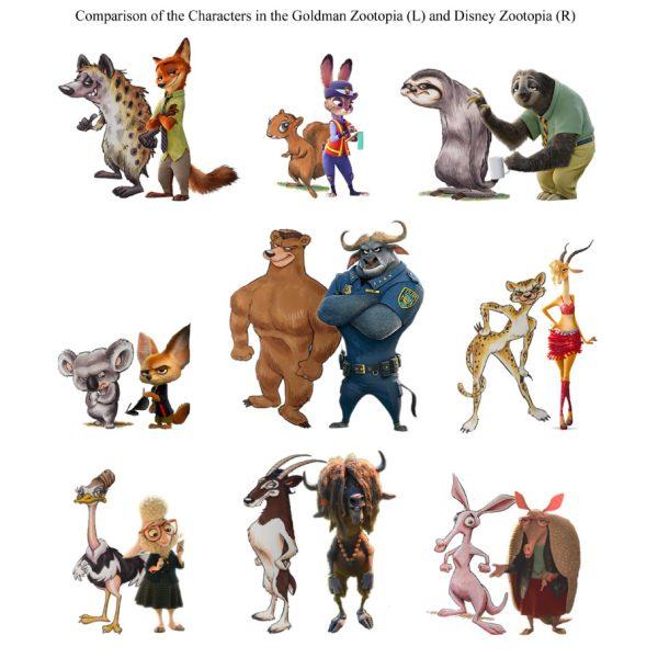 Zootropolis: Disney accusata di aver rubato l'idea allo sceneggiatore Gary Goldman